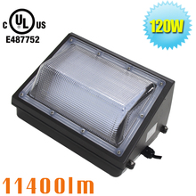 LED Wall Pack Light 120W Outdoor Lighting Fixture for Building Home Security and Walkways UL & DLC Listed 400-750W HPS(China)