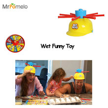 MrPomelo Wet Funny Challenge Hat Head Jokes&Funny OutDoor Toys Water Roulette Game Kid Toys Great Game Gags Practical Jokes