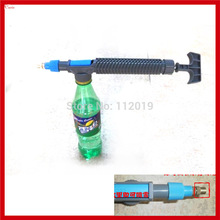 New 5pcs/lot Portable Home Garden Flower Water Sprayer Atomizer Nozzle Pump Bottle Mount Watering Spay Nebulizer Head