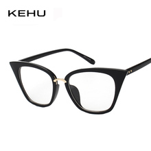KEHU New Fashion Cat Eyes Vintage Eyewear Women Brand Designer High Quality Glasses H1774(China)
