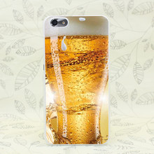 92F Beer Drink Hard Transparent Case Cover for Huawei P6 P7 P8 P9 Lite Plus & Honor 6 7 4C 4X G7