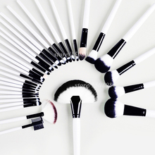 4 Colors 32pcs High Quality Professional Elegant Comestic Brushes Tools Set Grace Soft Persia Wool Face Eye Mouth Make-up Brush(China)