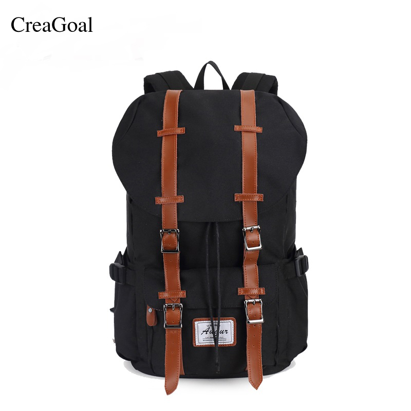 Hot sale Unisex Backpacks Leather Belt Waterproof Back packs For Male Female School Bags Larger Capacity Travelling Laptop Bag<br>
