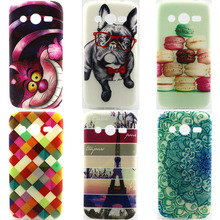 Case For Samsung Galaxy Core Lte G386F G386 G386W G386T SM-G386F 4G Cover Ultrathin Mobile phone Shell TPU Silicon Soft Fundas