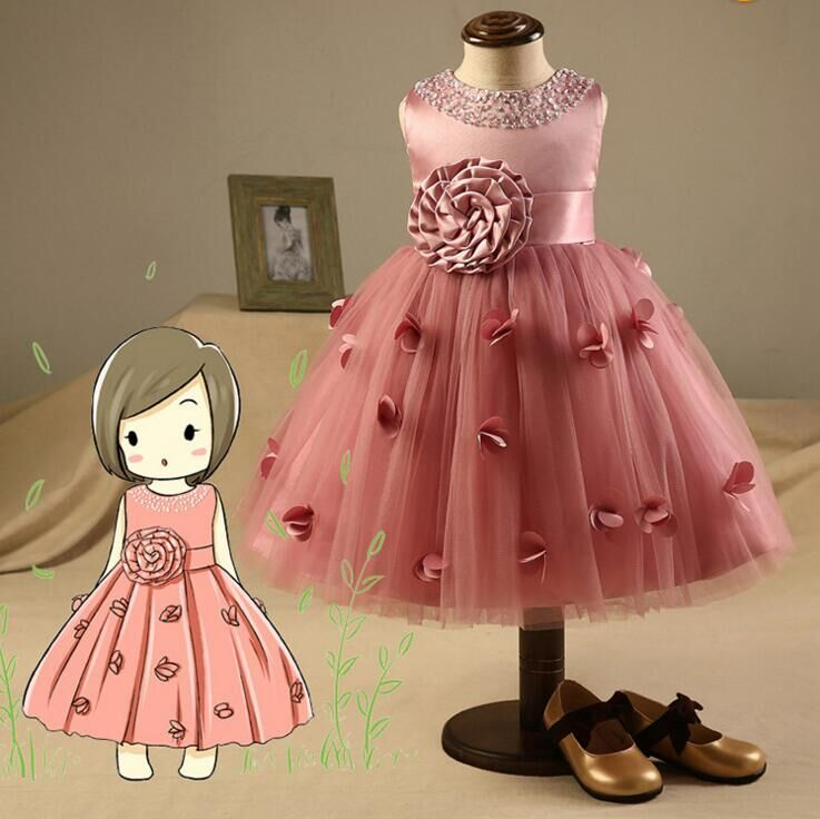 kids summer clothes for teenager girls evening dress floral party wedding dresses teenage ball gowns dresses for toddlers<br><br>Aliexpress