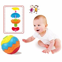 Multi-function Fitness Ball Blocks Baby Educational Building Toys Magic Cubes Brinquedos Educations Block Ball Hot Sale