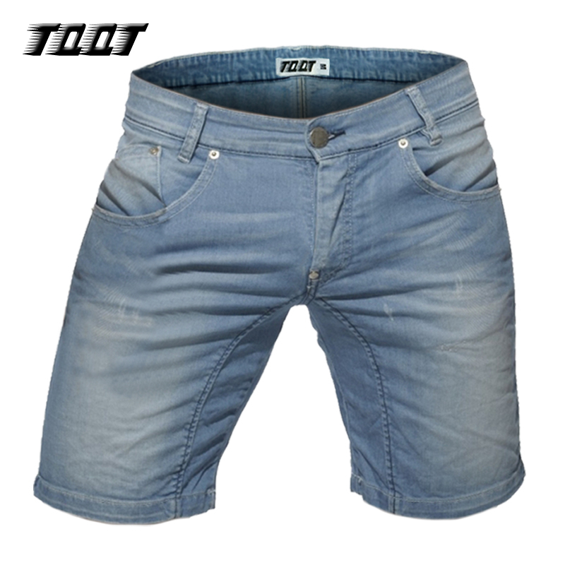 TQQT man stretch short jeans mid weight straight sofetener plus size jeans low waist mid length short jeans 5P0600Одежда и ак�е��уары<br><br><br>Aliexpress