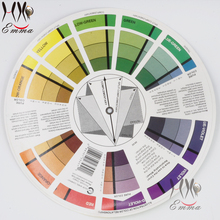 tattoo permanent makeup accessories Color Wheel for amateur and professional select a color mix Microblanding tattoo pigments(China)
