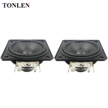 TONLEN 2PCS 2 inch Full Range Speaker 4 ohm 10 W DIY HIFI Speakers Wireless Bluetooth Speaker Loudspeaker HiFi Home Theater