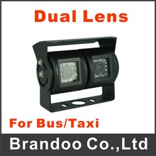 Dual lens IR car camera for truck,van,bus used, model CAM-052