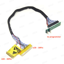 EDID Notebook LCD screen code chip data read line LED LCD 2 in 1 For RT809F  RT809H CH341A TL866CS and TL866A Programmer