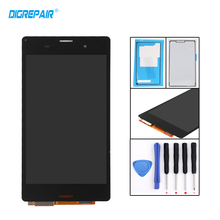 Buy 5.0'' White Black Sony Xperia Z3 D6603 D6643 D6653 D6616 L55T LCD Display Touch Screen Digitizer Assembly+Adhesive+Tools for $17.99 in AliExpress store