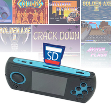 3 Inch Hanldheld Game Console & Video Player Portable Game Console For Sega Mega Drive Game For Nes Game For GBA Support SD Card