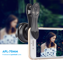Buy APEXEL Professional phone Lens 2.5X HD SLR Telefon telescope camera lens bokeh Portrait iPhone6S 7 Xiaomi Android smartphone for $21.43 in AliExpress store