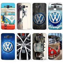 Hot Sale Volkswagen vw bus Clear Case Cover Coque Shell for Samsung Galaxy J1 J2 J3 J5 J7 2016 2017 Emerge
