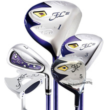 Complete-Sets Irons Golf-Shaft Clubs Fairway-Wood Maruman Womens New FL Cooyute Graphite