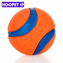 HOOPET Pet Dog Rubber Pinball Balls And A Ball Packing Orange Rubber Resistance To Bite Molars Toys Pet Supplies