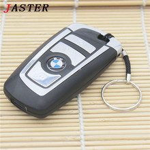 JASTER BMW car keys usb flash drive 100% Real capacity pendrive 32 gb 16 gb 8 gb pen drive memory card flash memory stick