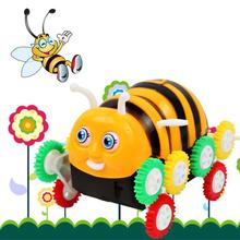 Toy Honeybee Electric Degrees Roll  Electric RC Stunt Dancing Drift Toy Car Model Educational toys for children