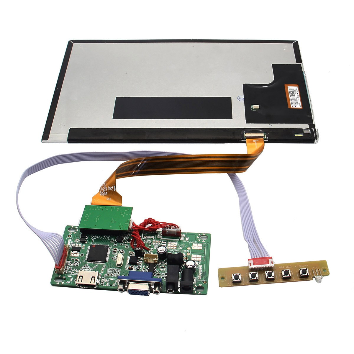 New Arrival 10 Inch Full HD 1920 x 1080 208PPI Independent Display TFT Screen For Raspberry Pi / Orange Pi / PC(China (Mainland))