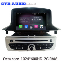 android 6.0 Octa core Car dvd radio for Renault Megane 3 III Fluence 2010-2016 with gps USB WIFI 4G bluetooth mirror link radio(China)