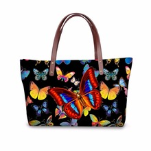 FORUDESIGNS Brand Women Handbags Butterfly Tote Bags Designer Crossbody Bags for Ladies Girls Shopper Bolsa Feminina Sac a min(China)