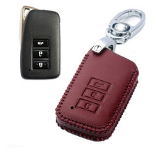 High quality! Special car key case for New Lexus RX 2016 durable fashion genuine leather key cover for RX 2017,Free shipping