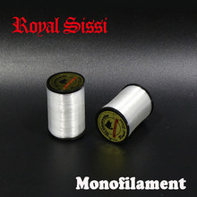 Royal Sissi brand 2pools Monofilament tying Thread .004'' for Trout Crack flies translucent clear Mono fly tying thread 150yards