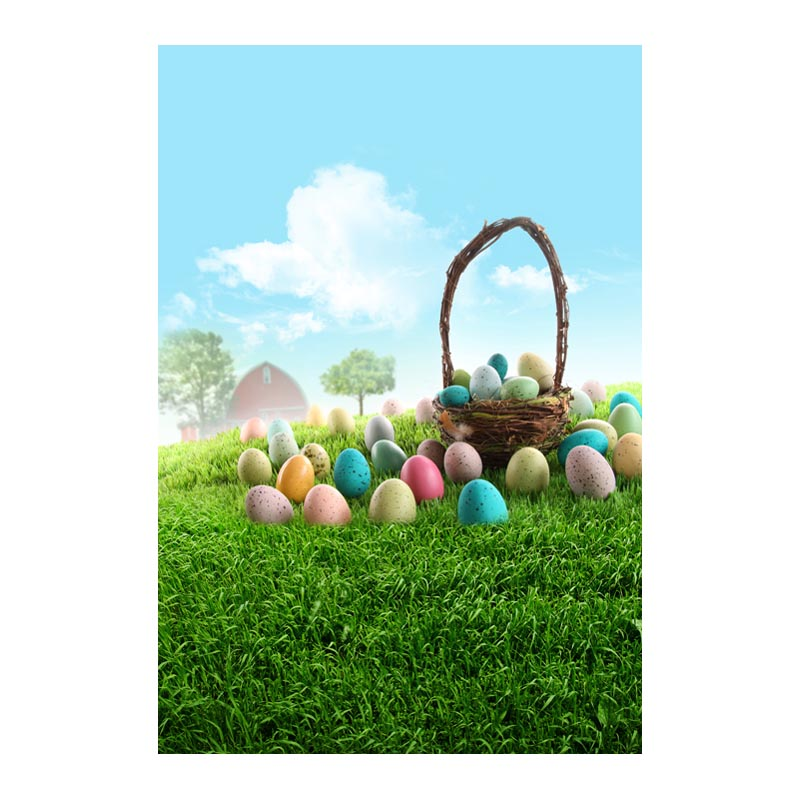Thin fabric computer Printed photography background Easter colorful eggs photo backdrop for Studio 5X7ft GE-076<br><br>Aliexpress
