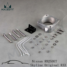 FOR New R33 RB25DET Front Facing Intake Manifold Original Throttle Body Adaptor Kit