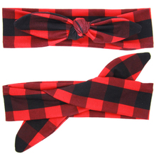 1PC Cute DIY Lovely Kids Girl Bowknot Headband Rabbit Ears Hairband Turban Knot Head Wrap Hair Band Accessories