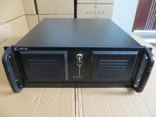 Computer case 4U450S Panel with lock Supports 12 * 13 motherboards PC power industry / industrial / monitoring / server chassis(China)