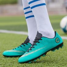 2018 New Arrival Hot Sale High Quality Soccer Shoes Men Outdoor Sport Shoes Chaussures De Football Zapatos De Futbol Child Women