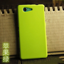 FOR Z3 mini jelly Soft Silicone cover solid color TPU phone case For SONY xperia Z3 compact M55W D5833