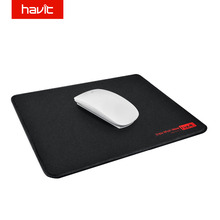 "HAVIT Computer Gaming Mouse Pad Black Rubber Waterproof surface Gamer Mousepad Muismat for Gamer 10.2"" X 7.9"" HV-MP813(China)"
