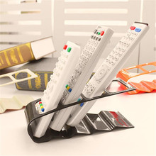 Convenient Plastic TV DVD VCR Remote Controls Holders Stands Table Storage Rack Desktop Mobile Phone Organizer(China)