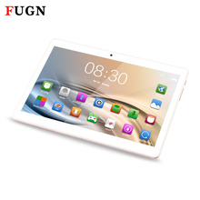 FUGN Phone Call Tablet Android PC 10'' 1920x1080 4G LTE 3G Dual SIM Octa Core Bluetooth WIFI 4GB RAM for Kids Portable Netbook(China)