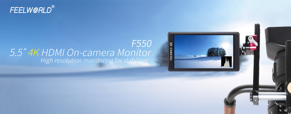 feelworld-F550-5.5-4k-on-camera-monitor