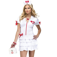 New Sexy Nurse Halloween Costume Carnaval Costume Women Flirty Nurse Costume Cheap Price Women Portfolio Free Shipping W846139
