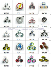 Multiples options ! mixed super hero characters Floating Locket memory charms Fit Living Floating Memory locket As New Year Gift