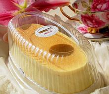 Clear PVC Plastic Sandwich/ Cheese Cake Plastic Boxes And Bakery Packaging With Lid Big 25*13.5*8 CM(China)