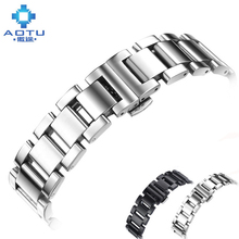 Stainless Steel Watchbands For Citizen Watches Men Top Quality Watch Straps For Women Metal Watch Band Female Bracelet Belt