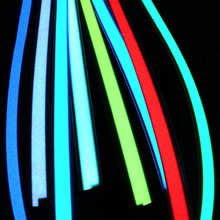 New Arrival Six Colours Flexible Electroluminescent Tape EL Wire Glowing With DC 12V Cigarette Lighter 12V  USB Inverter el tape