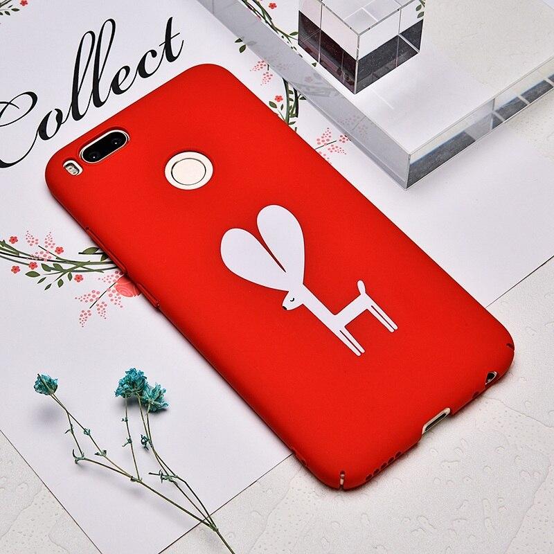 TOMKAS Cute Armor Case For Xiaomi Mi A1 5X Redmi 4X Redmi Note 4X 32GB Cases Cover Luxury PC 5.5 inch Case For Xiaomi Mi A1 (5)
