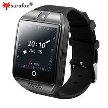 Sarafox Q18 Plus Android Smart Watch MTK6572 Dual-core 512MB 4GB Support WIFI 2G/3G SIM Card Bluetooth Smartwatch Camera Music