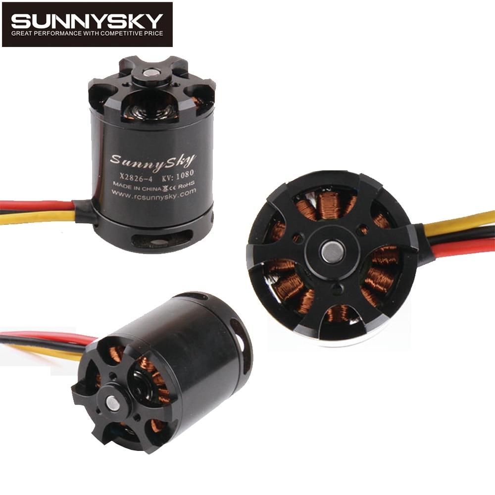 1pcs Original SunnySky X2826 550KV 740KV 880KV 1080KV Outrunner External Rotor Brushless Motor for RC Helicopter<br>