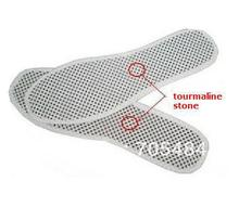 Freeshipping 2 pairs/lot tourmaline spontaneous heating Insole Far infrared massage shoe pad Magnet inner sole tourmaline insole