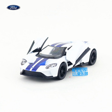 KINSMART Die Cast Metal Model/1:38 Scale/2017 Ford GT Special toy/Pull Back Car for children's gift or collection/Gift