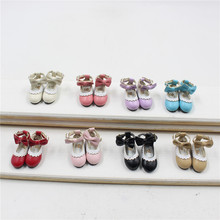 Blyth doll shoes with Bow Nine different colors can be choosing Cute Neo 1/6 BJD(China)