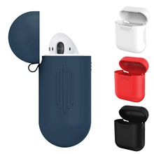 Case For Apple Airpods TPU Silicone Soft Case Cover Ultra Thin Pure Color Protection Coque Cover For Air Pods Earphone